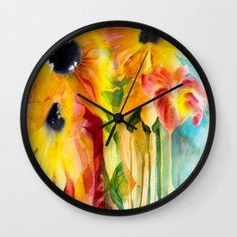 Summer Eminence Wall Clock
