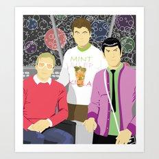 Officers' Lounge Art Print