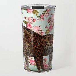 Leopard Horses Travel Mug