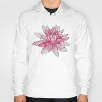 lotus Hoodies featuring Lotus by Haley Erin