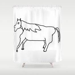 HORSE Shower Curtain