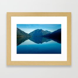 Lake Crescent, WA Framed Art Print