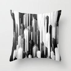 obelisk posture 2 (monochrome series) Throw Pillow