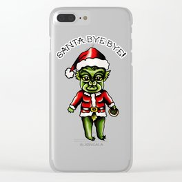 Baby Grinch Kewpie Clear iPhone Case
