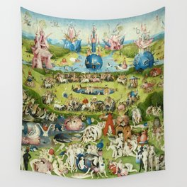 The Garden of Earthly Delights by Hieronymus Bosch Wall Tapestry