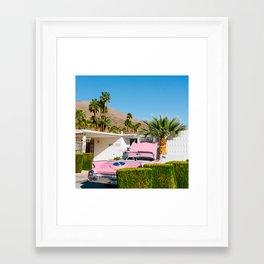 Palm Springs Ride XI Framed Art Print