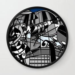 Jam Session (Euphony) Wall Clock