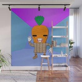 Carrot Drake Wall Mural