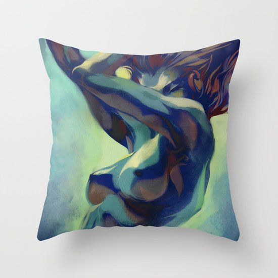 Pepper Motion Throw Pillow
