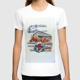 Christmas Ponies T-shirt