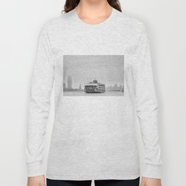 Statue Of Liberty & Ferry Long Sleeve T-shirt