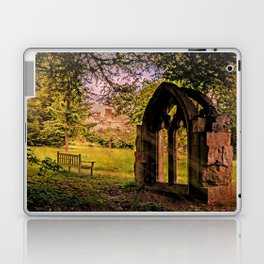 Manor house landscape. Laptop & iPad Skin