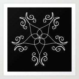 Five Pointed Star Series #7 Art Print