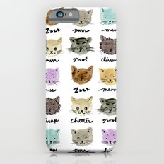 Kitty Language iPhone 6s Slim Case