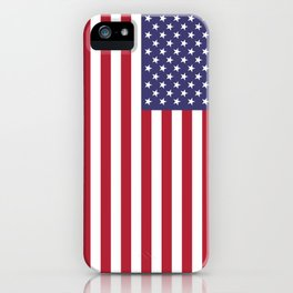 National flag of the USA - Authentic G-spec scale & colors iPhone Case