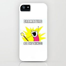 All the Things iPhone Case
