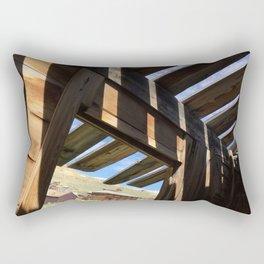 Ghost town barn Rectangular Pillow