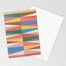 Blooming Triangles Stationery Cards
