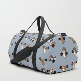 Olympic Lifting Beagles Duffle Bag