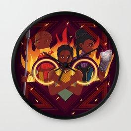 Women of Wakanda v2 Wall Clock