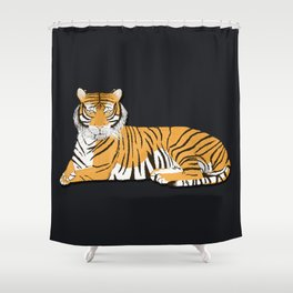 In The Wild Shower Curtain