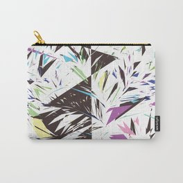 Abstract bold artistic triangles geometrical shapes Carry-All Pouch