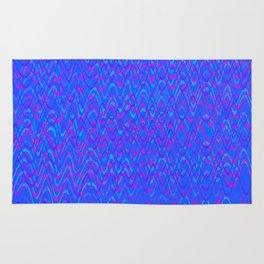 color waves 3 Rug