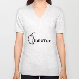 Mexican Chile Unisex V-Neck