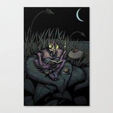 Night Bug Canvas Print