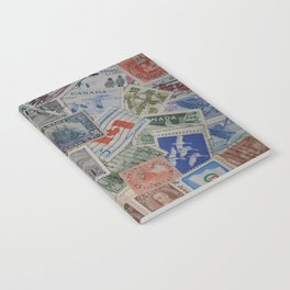 Canadian Pride Vintage Postage Stamp Collection From Canada Notebook
