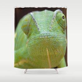 Chameleon Face Shower Curtain