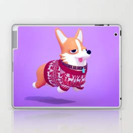 Holiday Corgi Laptop & iPad Skin