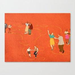 Sing, sing, sing! Canvas Print