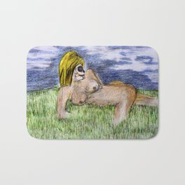 Sugar face nude 2 Bath Mat