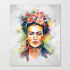 Frida Kahlo Canvas Print