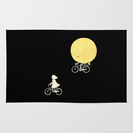 The moon and me Rug