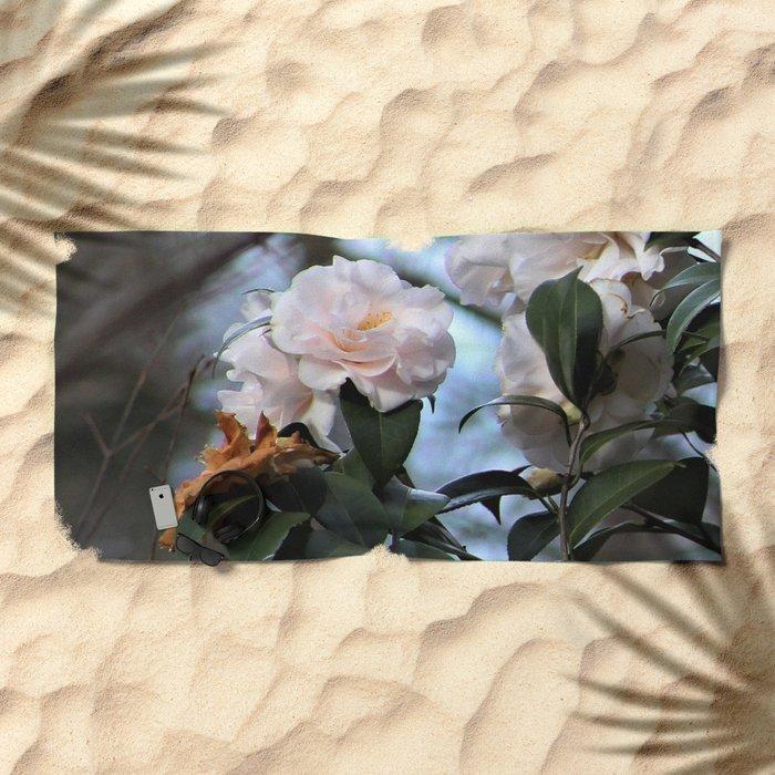 Flower No 3 Beach Towel