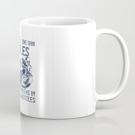 I Solve My Problems By Twisting Throttle Coffee Mug