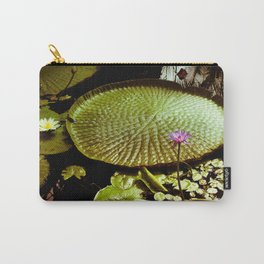 Life Upon A Lily Pad Carry-All Pouch