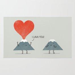 I Lava You Rug