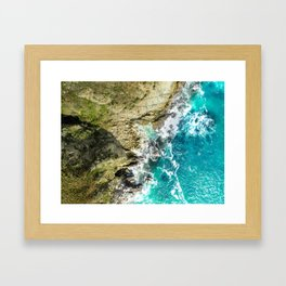 Cape Town Beach Framed Art Print