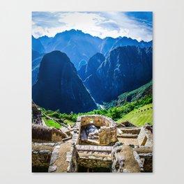 The Sun Temple Canvas Print