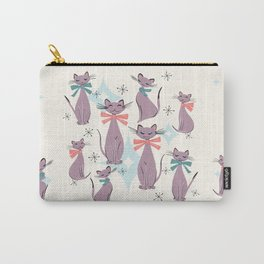 A Captivating Catalogue Of Classy Cats Carry-All Pouch
