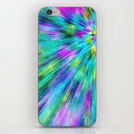 Tie Dye Starburst iPhone Skin