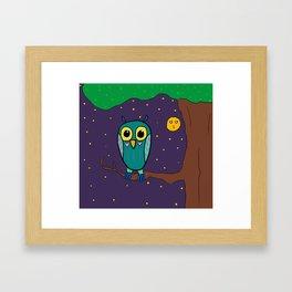 Artsyfartsy: Owl Framed Art Print