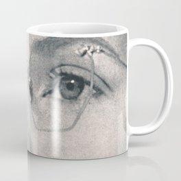 Four Eyes - collage Coffee Mug