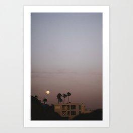 Malibu Moon Art Print