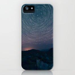 Stars in Lone Pine California iPhone Case