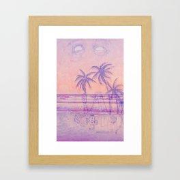 Surf God Framed Art Print