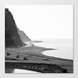 la fin des terres 7 Canvas Print